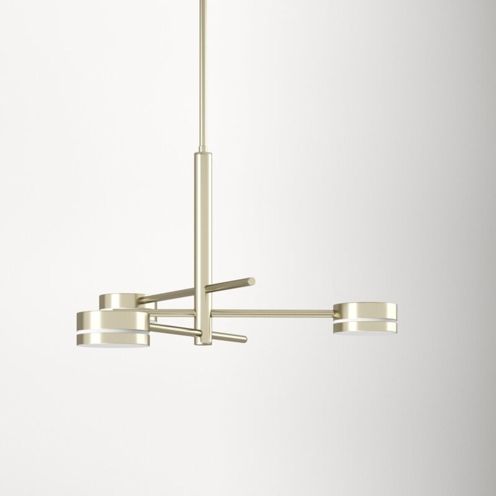 *Armetta 3 - Light Sputnik Modern Linear LED Chandelier