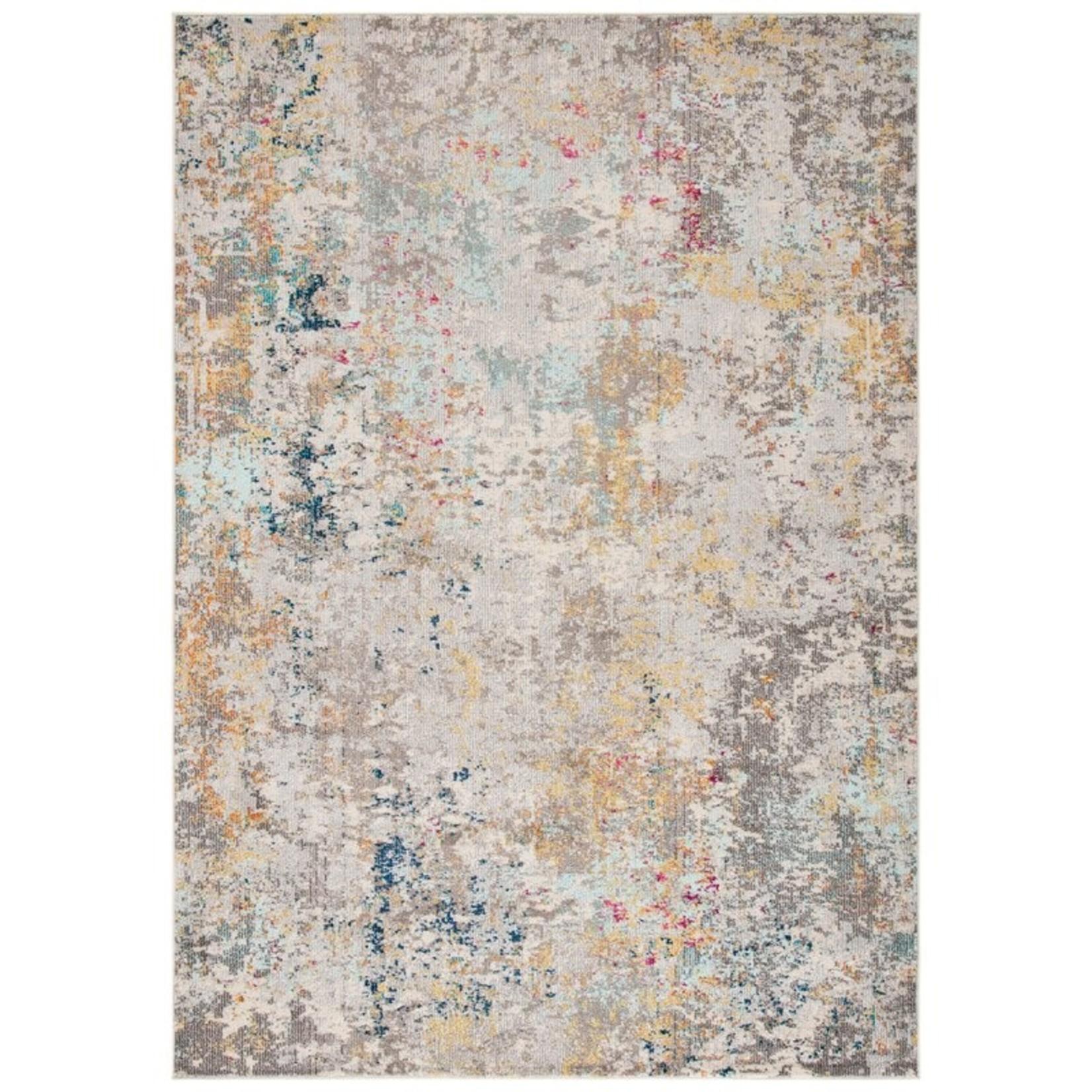 *10' x 14' - Abderus Beige/Grey Area Rug