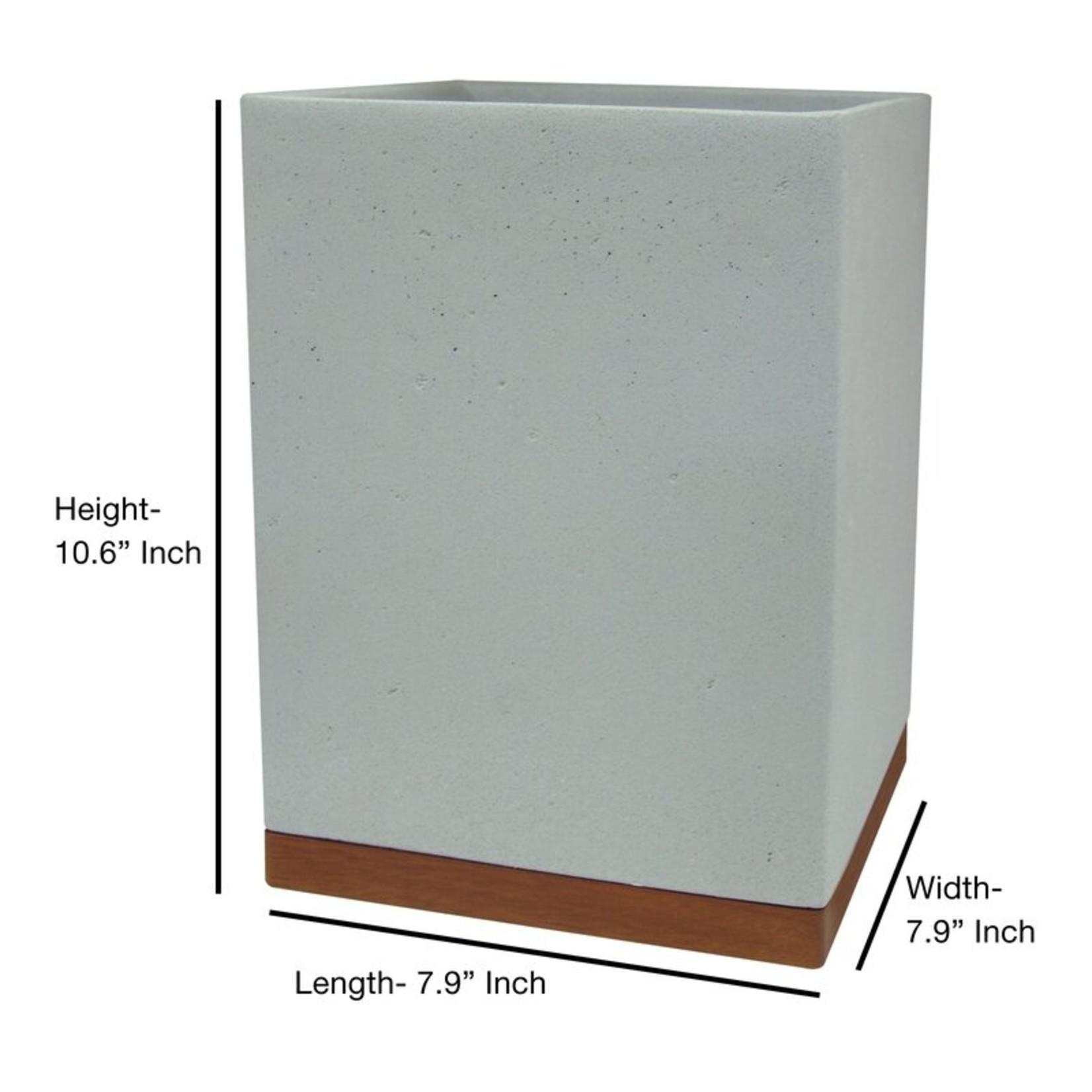 *Stonington Concrete Stone 7 Piece Bathroom Accessory Set