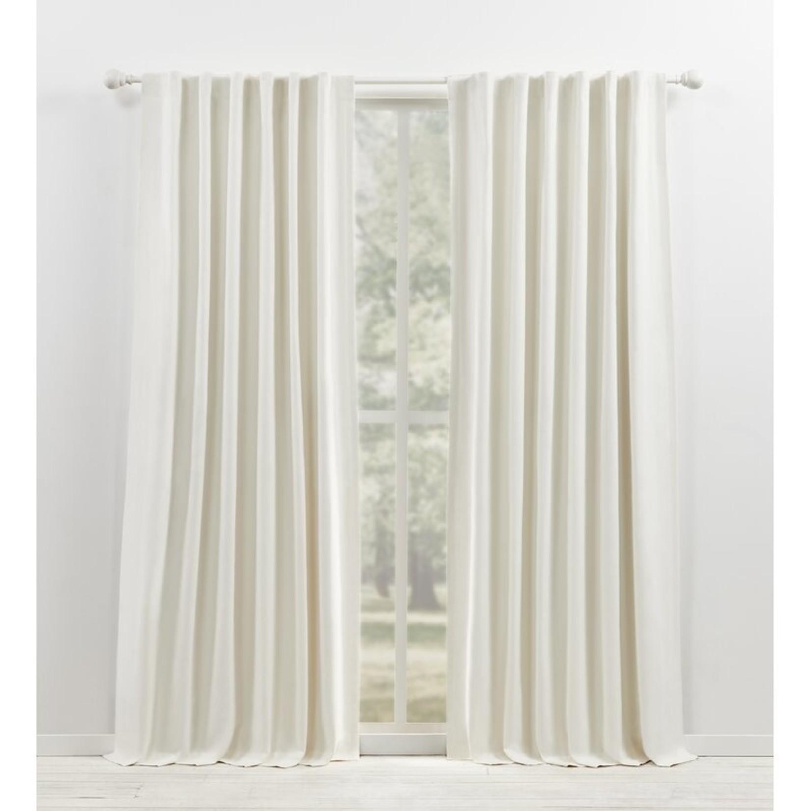 "*52"" x 96"" -Waller 100% Blackout Thermal Rod Pocket Curtain Panels - Set of 2"