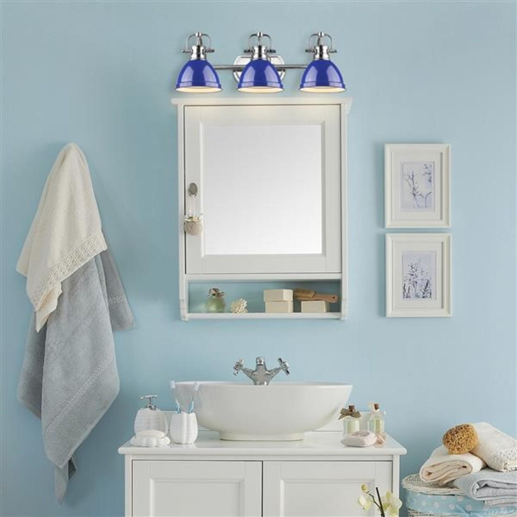 *Drakeford 3-Light Vanity Light - Blue