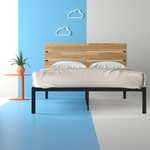 *Full/Double - Alianna Solid Wood Platform Bed