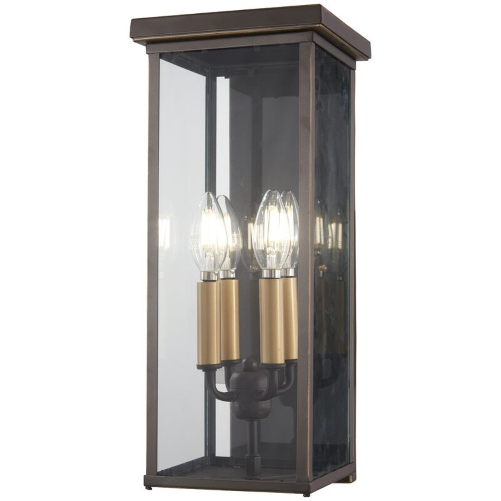 *17'' H x 7'' W x 9'' D - Collins 5-Light Outdoor Wall Lantern -  Oil Rubbed Bronze