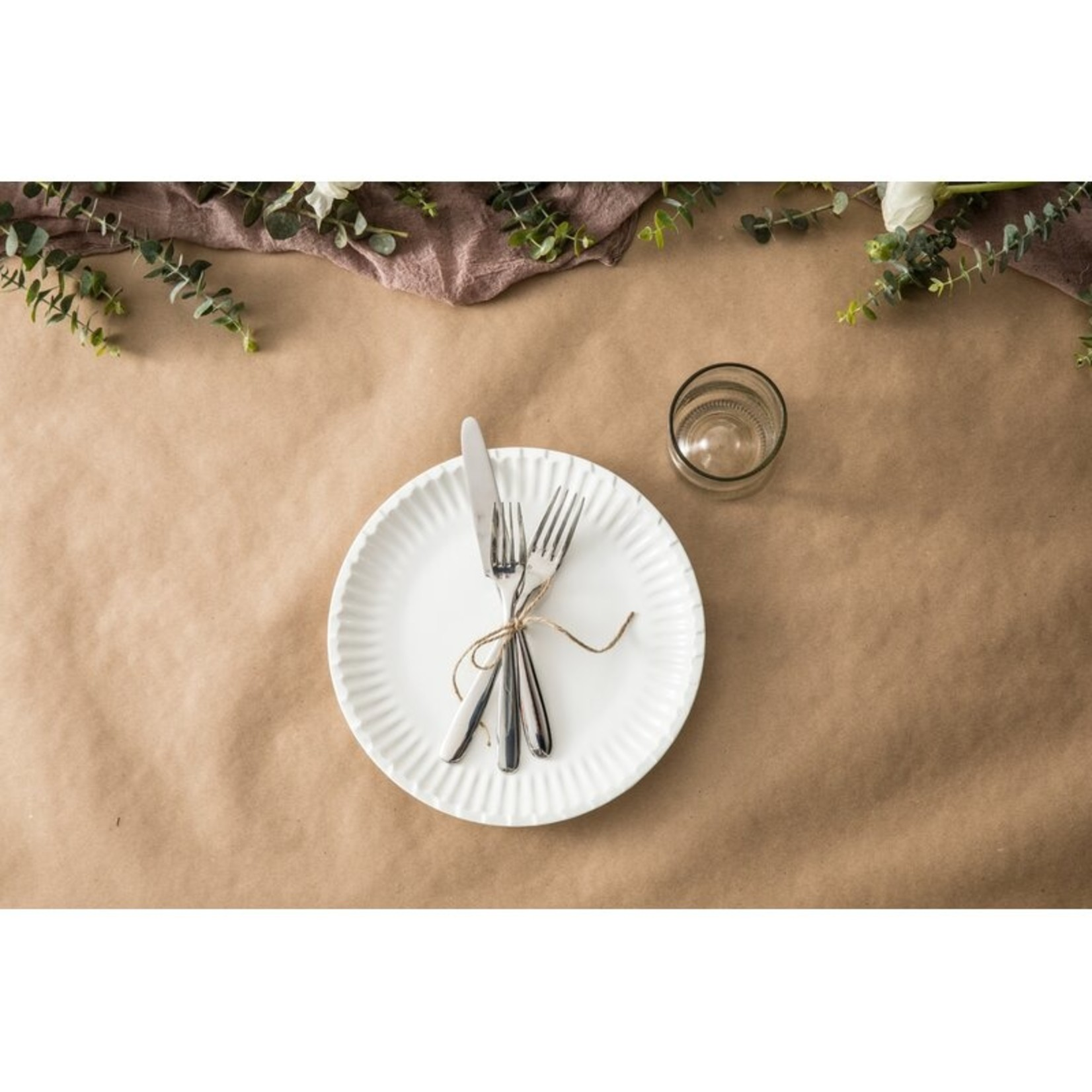 "*8"" - Food Truck Dinner Plates  -  Set of 12"