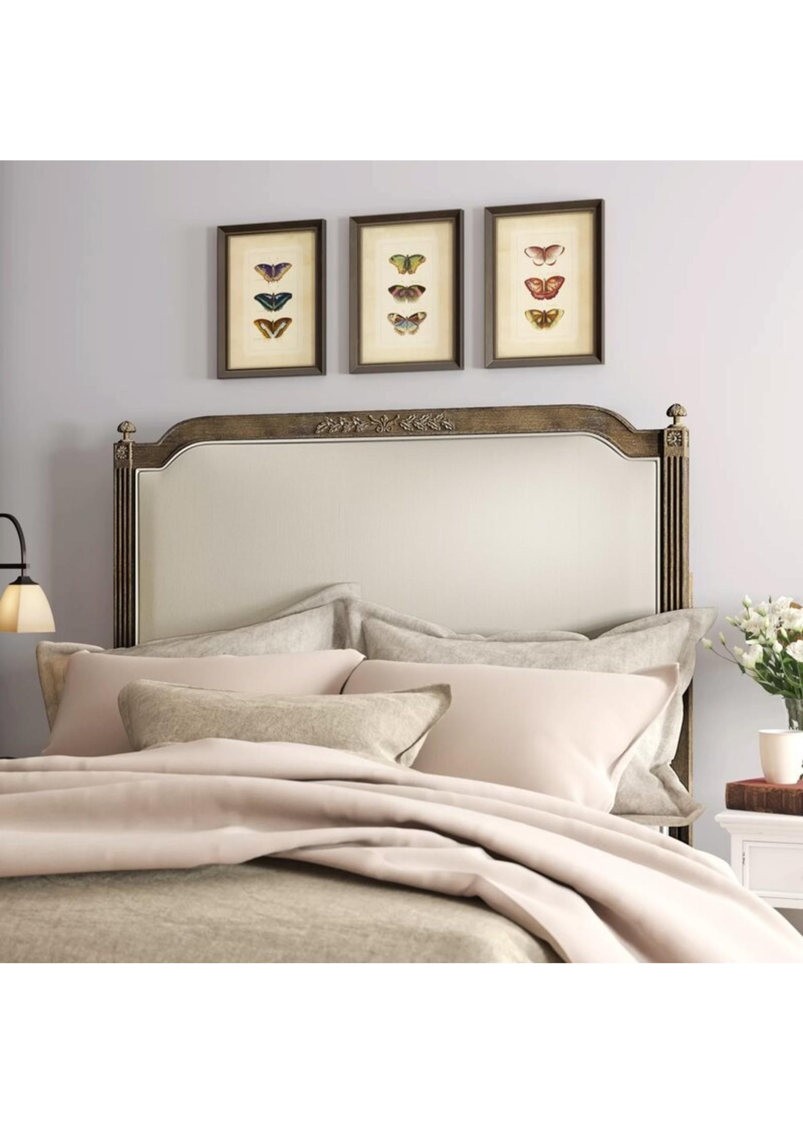 *Queen - Arine Upholstered Panel Headboard