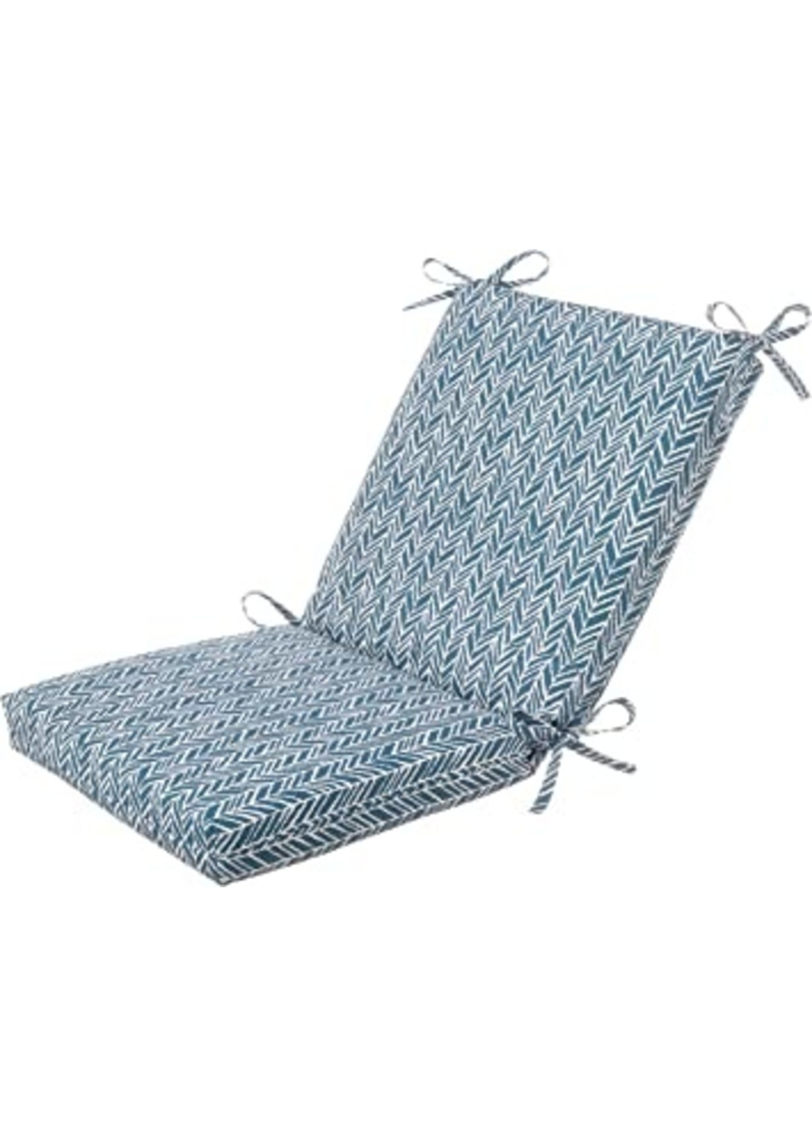 *Dining Chair Cushion - Set of 4 - Blue