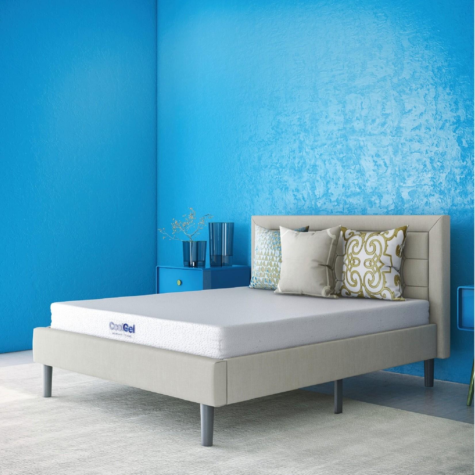 """*Full - Alwyn Home 6"""" Firm Gel Memory Foam Mattress - Final Sale"""