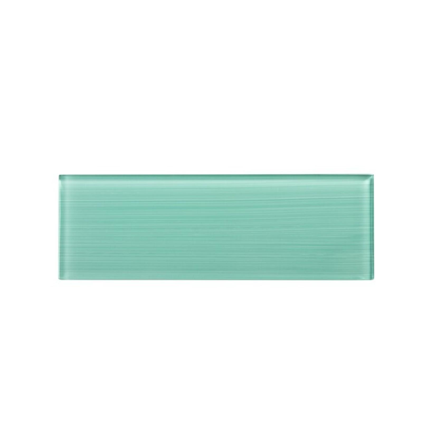 "*4"" x 12"" - Premium Hand Painted  Glass Subway Tile - 5 sq ft  - Final Sale"