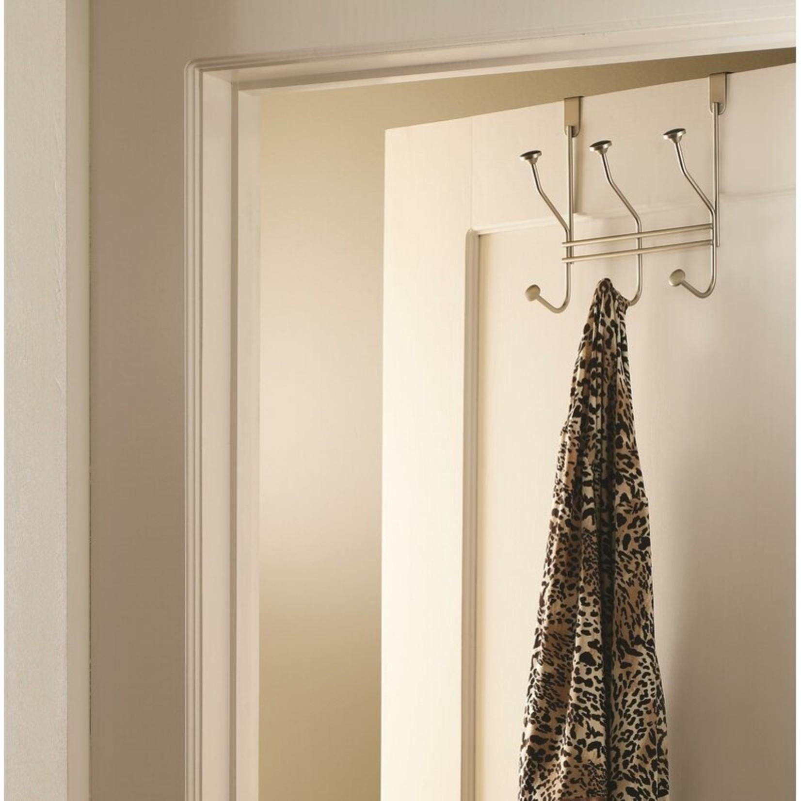 *Over-The-Door Robe Hook - Silver