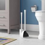 *Obray 19in. H Free Standing Toilet Brush Set