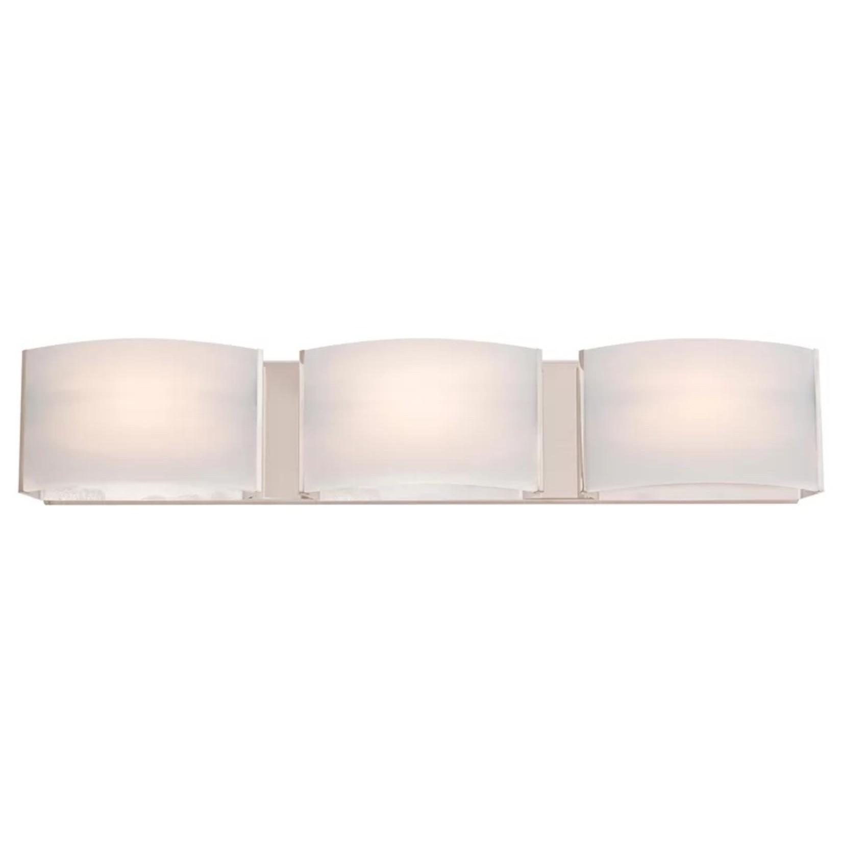 *Adrieonna 3-Light LED Vanity Light - Satin Nickel