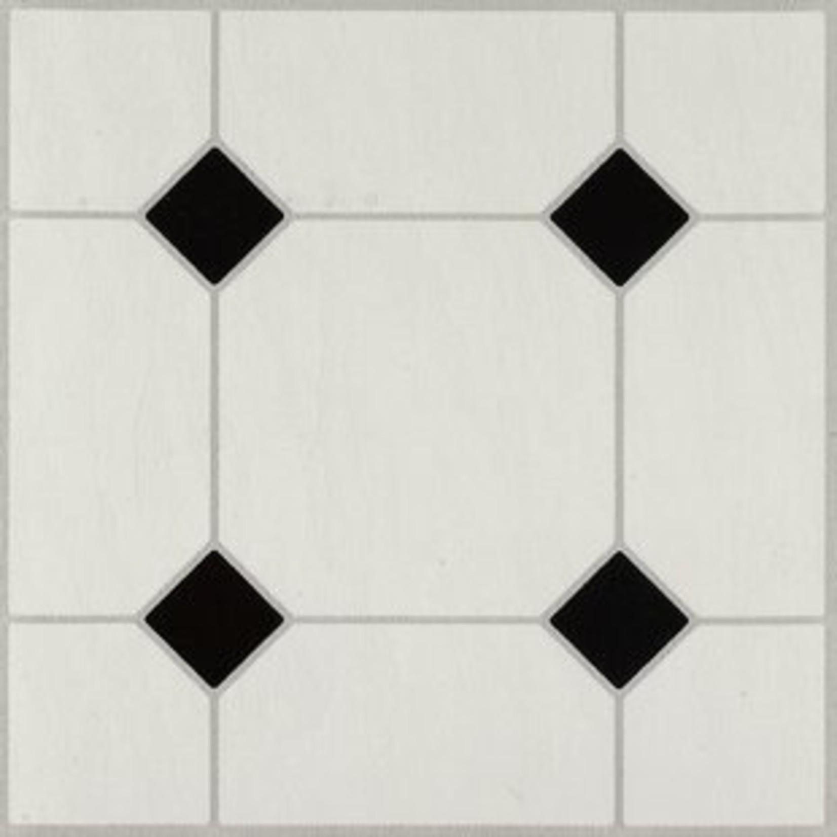 "*Afton Diamond Jubliee 12"" x 12"" x 0.1 mm Vinyl Tile - Final Sale"