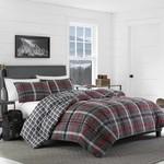 *Full/Queen - Willow Plaid Reversible Comforter Set - Final Sale