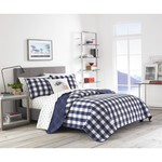 *Twin - Lake House Plaid Reversible Quilt Set - Final Sale