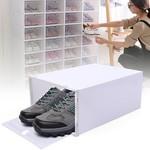 *24 Piece - Plastic Transparent Shoe Box Storage Box
