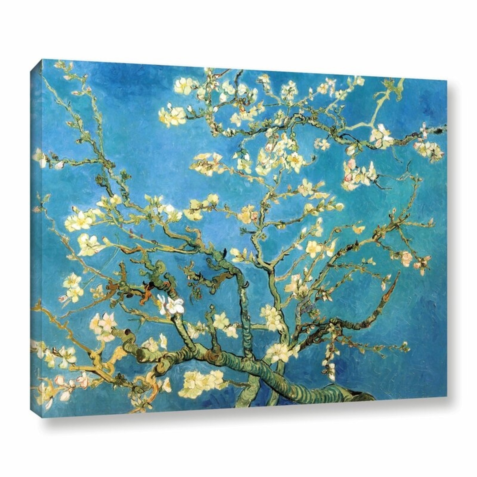 """*8' x 10"""" -Almond Blossom by Vincent Van Gogh - Print on Canvas"""