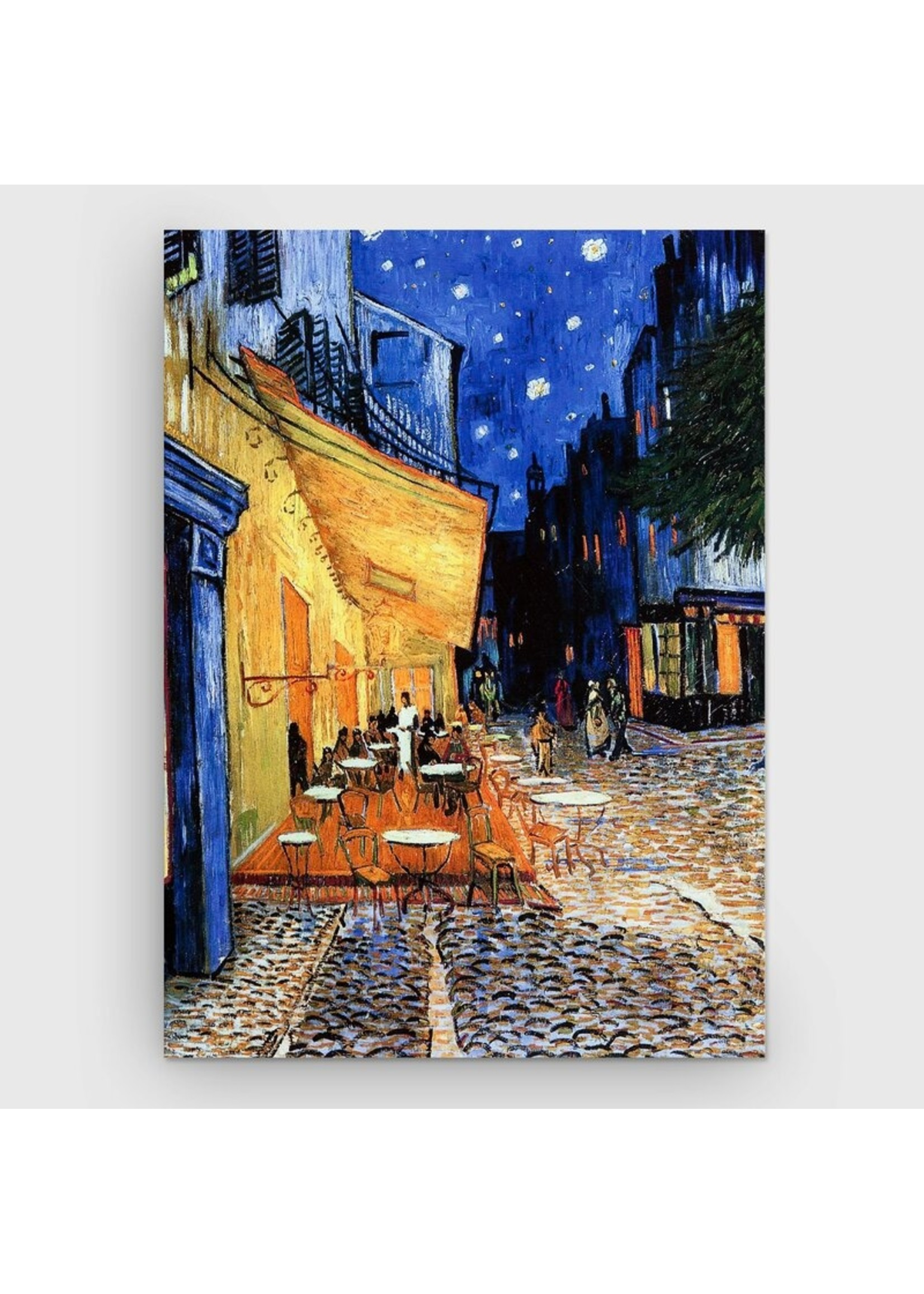 """*22.5 x 31"""" - Cafe Terrace at Night by Vincent Van Gogh - Print on Canvas"""