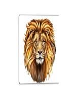 """*16"""" x 32"""" -Animal'King Lion Aslan Animal' Graphic Art"""