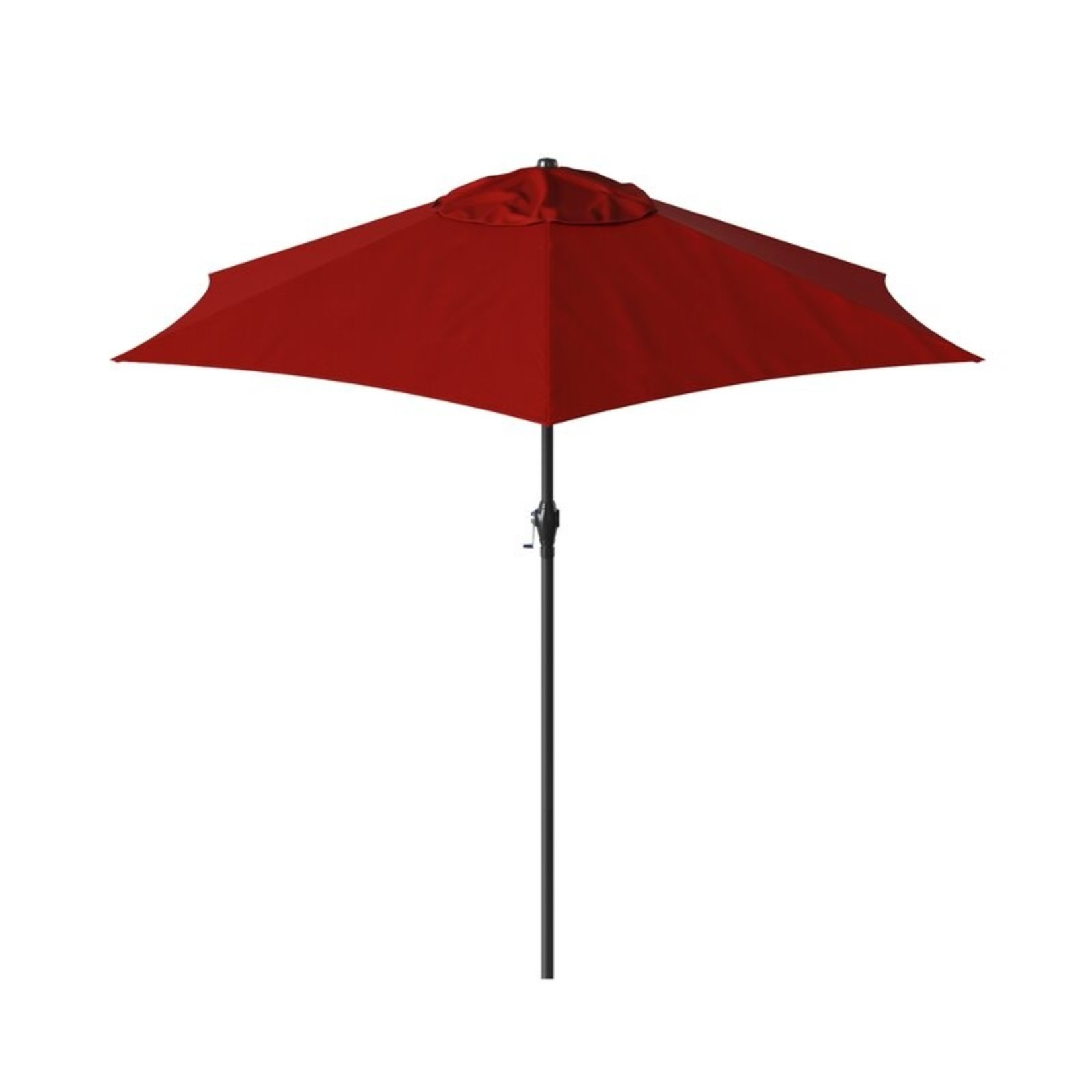 "*Kearney 108"" x 108"" Market Umbrella - Brick"