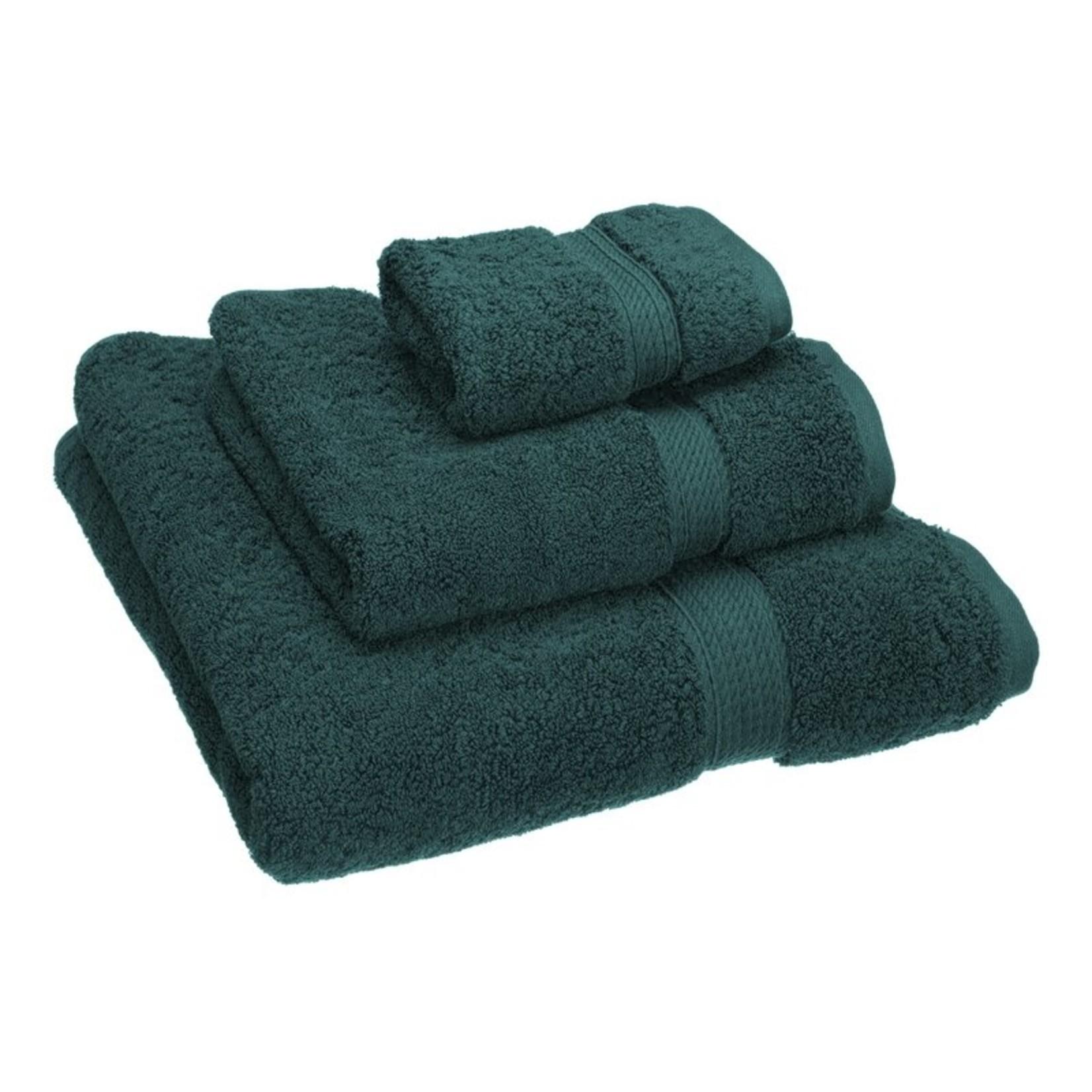 *Huson 3 Piece Egyptian-Quality Cotton Towel Set - Teal - Final Sale