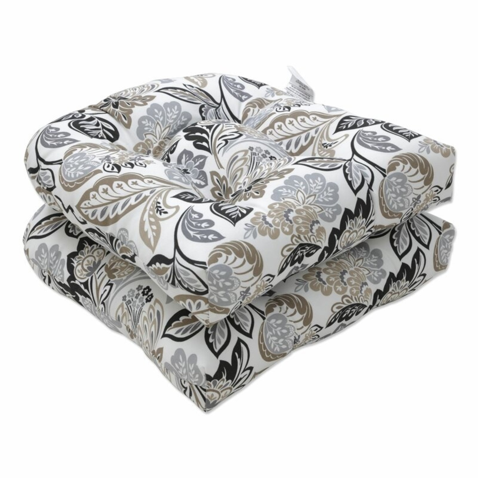 *Dailey Pewter Indoor/Outdoor Seat Cushion - Set of 2