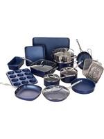 *Granite Stone 20 Pieces Aluminum Non Stick Cookware Set