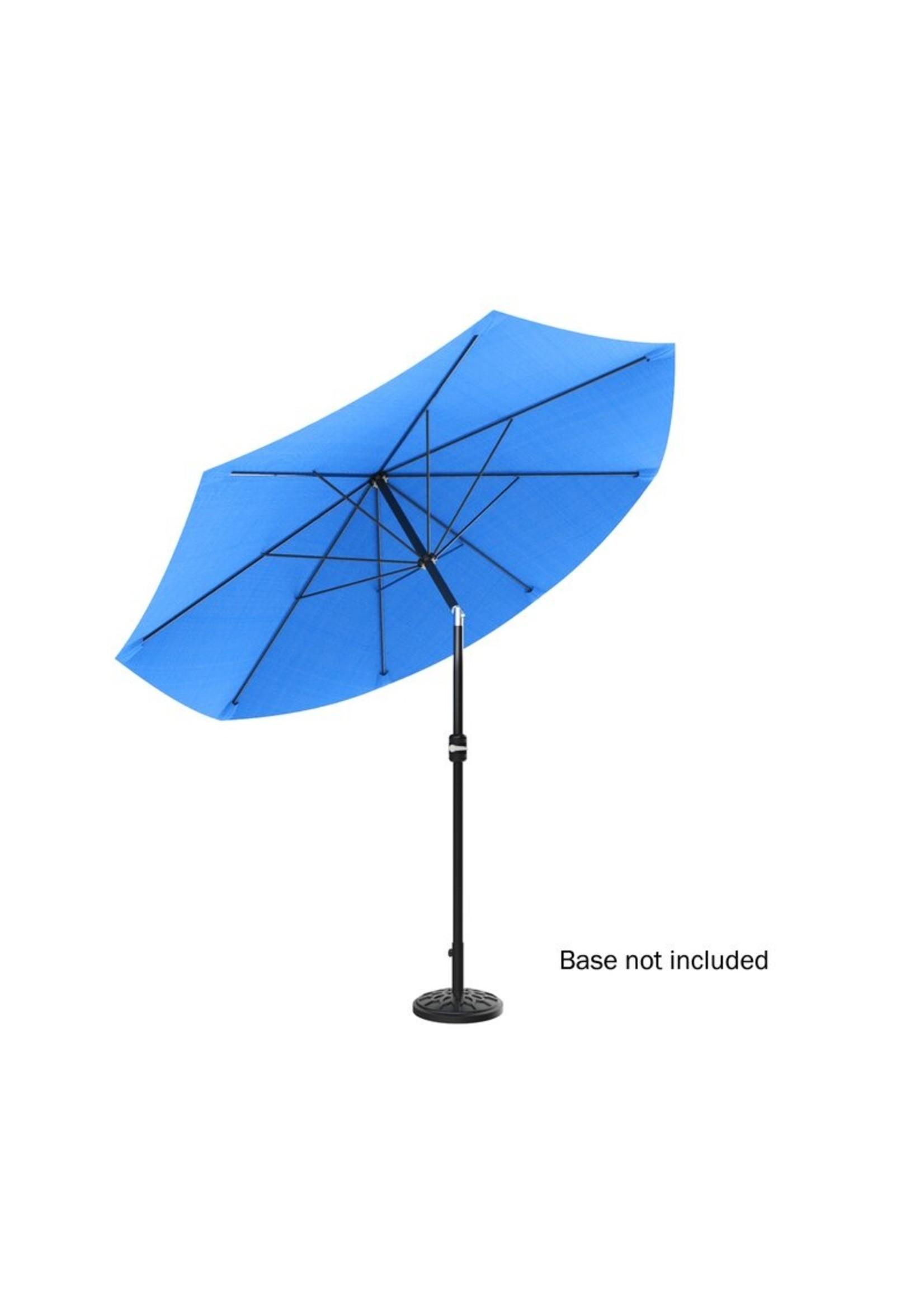 """*120"""" x 120"""" - Kelton  Market Umbrella - Blue"""