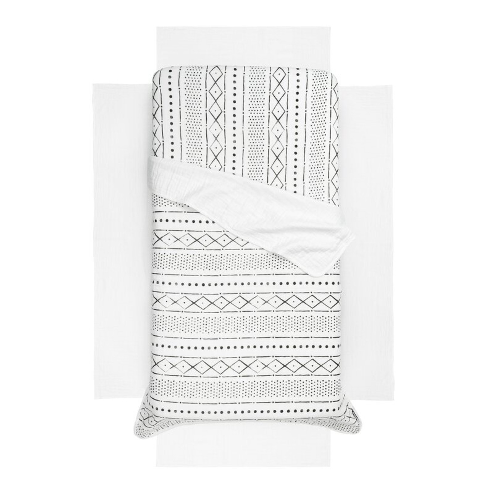 *Dreamit Muslin 3 Piece Crib Bedding Set - Final Sale