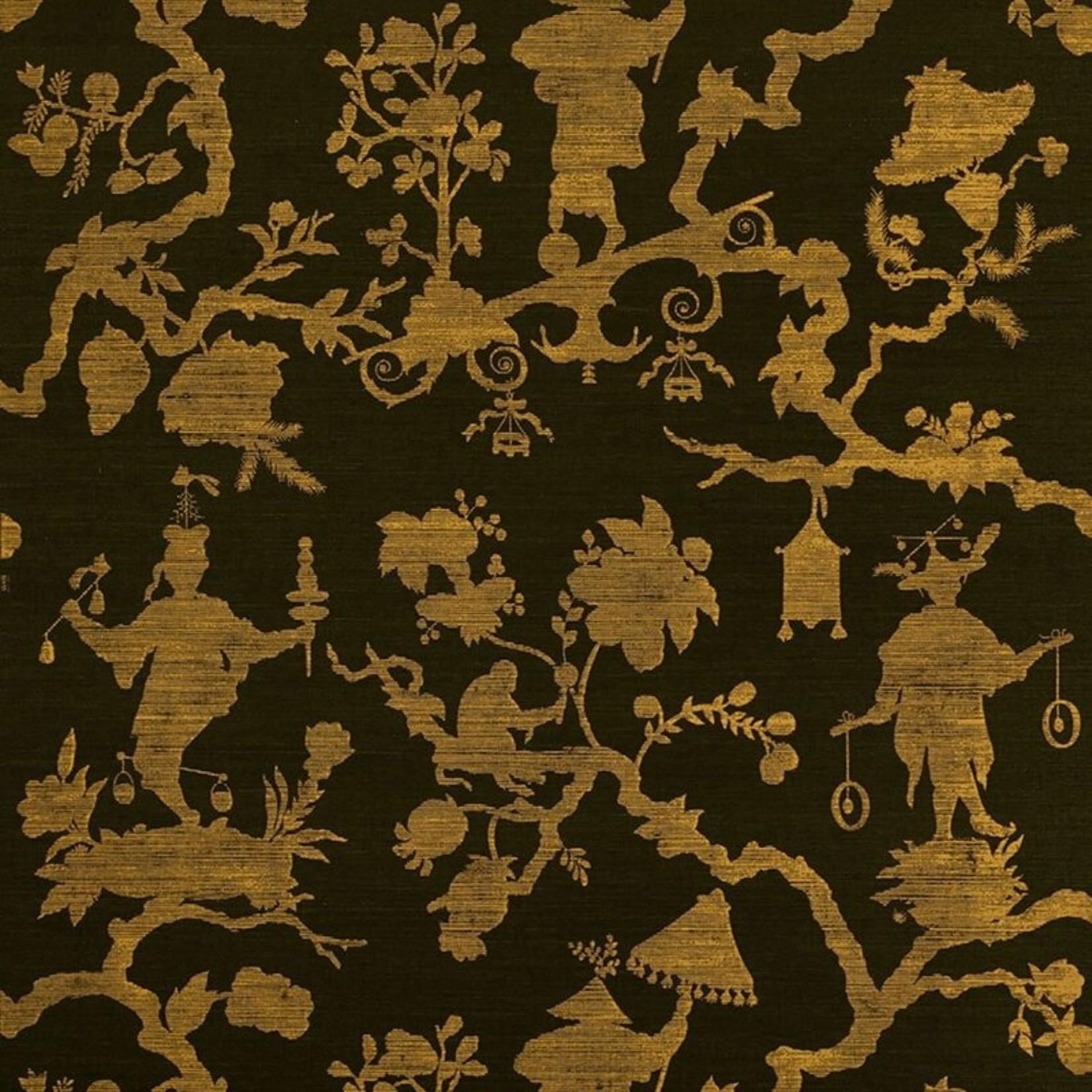 "*Shantung Silhouette Sisal 24'L x 34""W Texture Wallpaper Roll (Final Sale)"