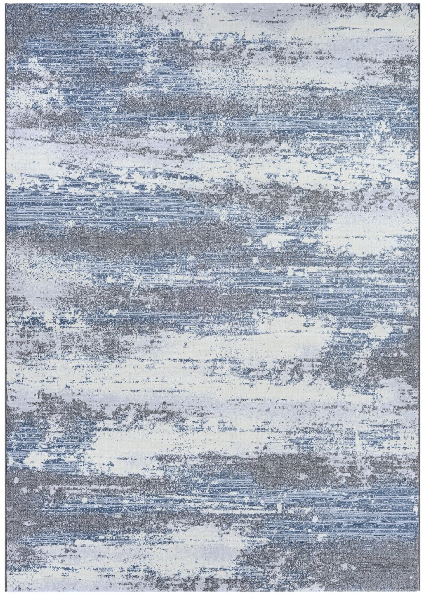 "*3'11"" x 5'6"" - Driggers Gray/Blue Area Rug"