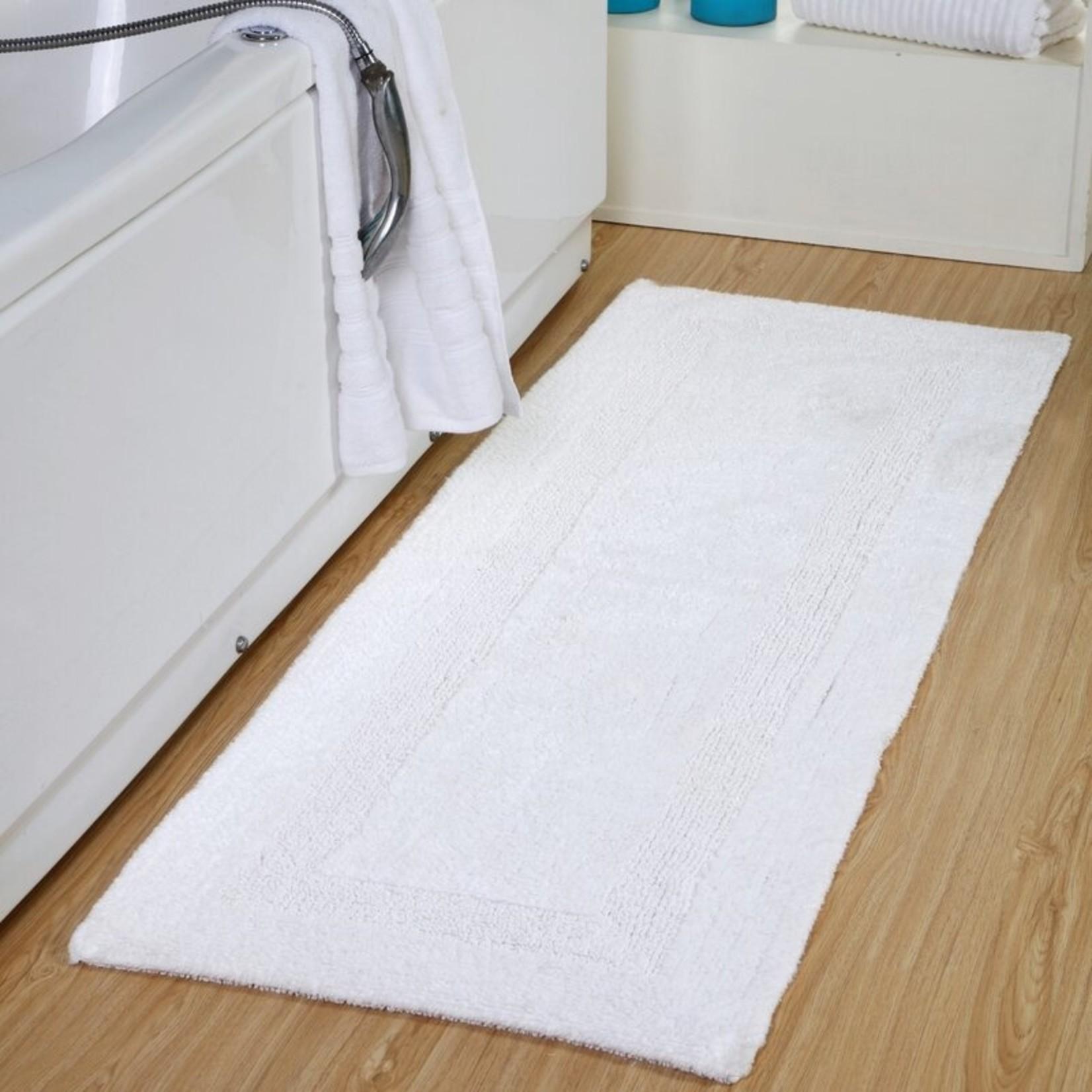 "*24"" x 60"" Tinsley Bath Rug - White"