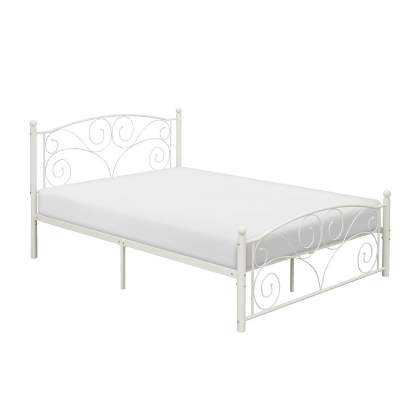 *Full/Double - Eichhorn Low Profile Platform Bed - White