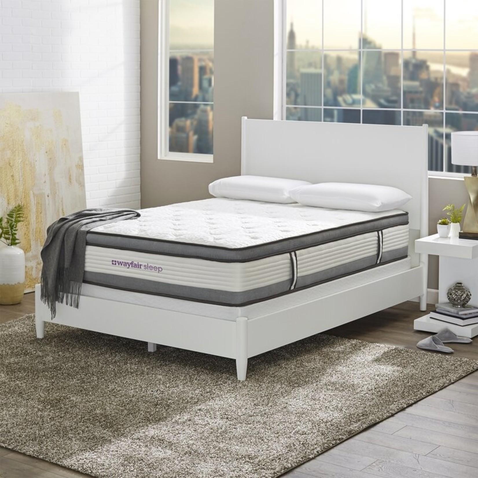 "*Full - Wayfair Sleep 12"" Medium Plush Hybrid Mattress - Final Sale"