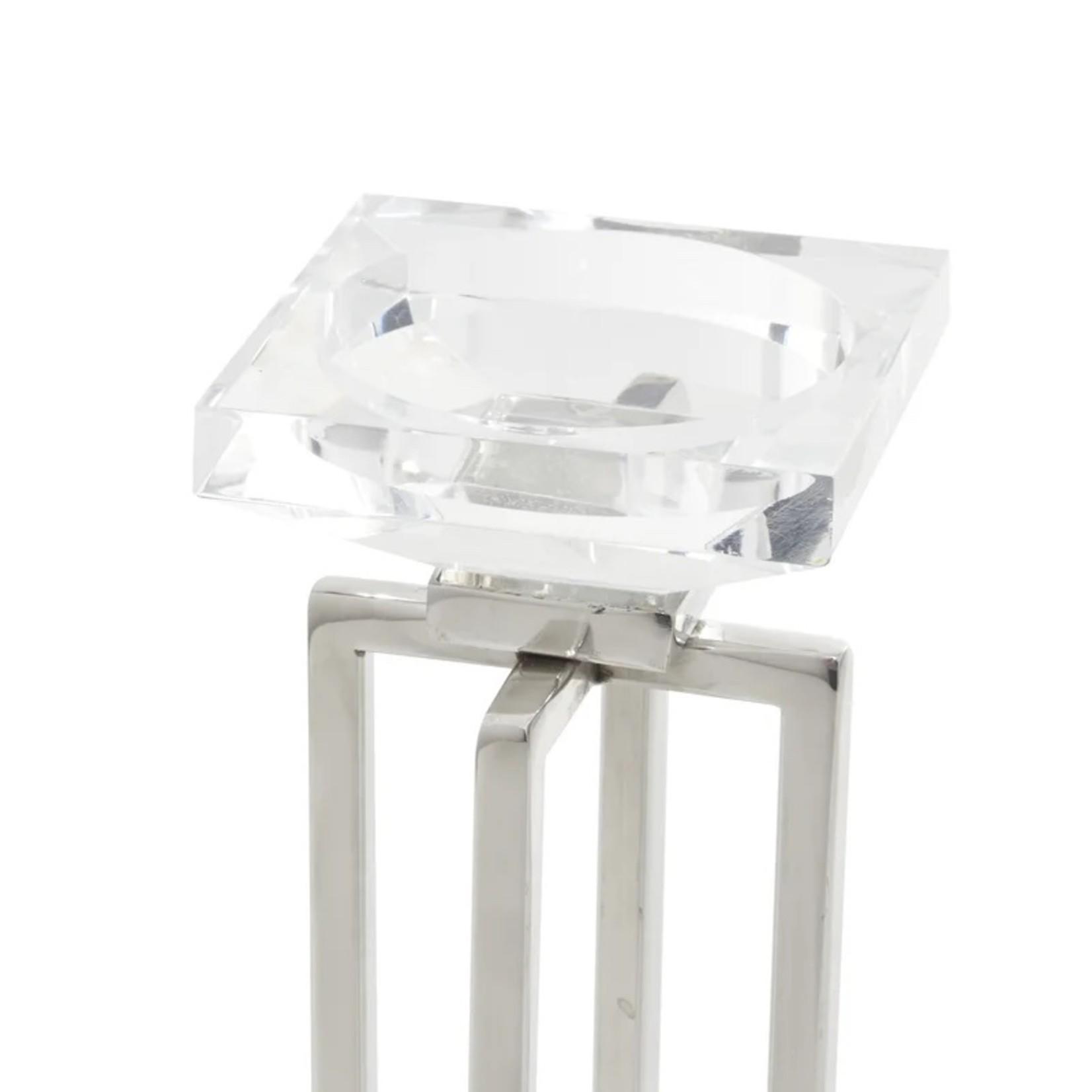 *2 Piece Stainless Steel Tabletop Votive Holder Set