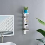 "*30"" x 6"" - Utility Column Spine Wall Shelf -  White"
