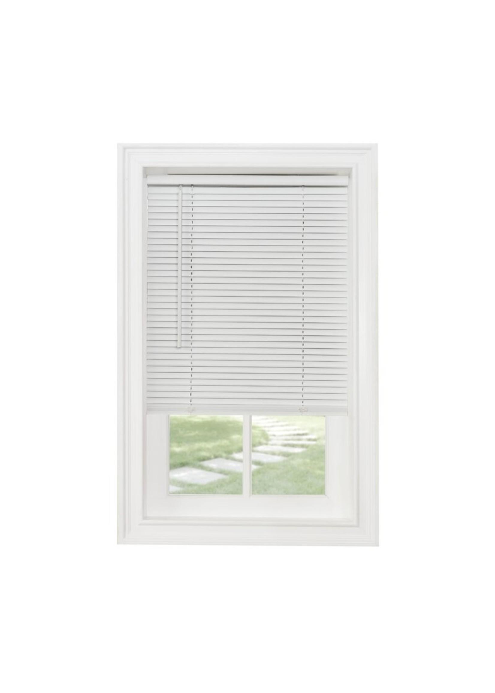 "*72"" x 64"" -  Wayfair Basics Semi-Sheer Horizontal/Venetian Blind - White - Final Sale"