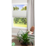 """*33"""" x 48"""" - Ecohome 1.5In. Semi-Sheer Top Down Bottom Up Honeycomb Shade -  Ivory - Final Sale"""