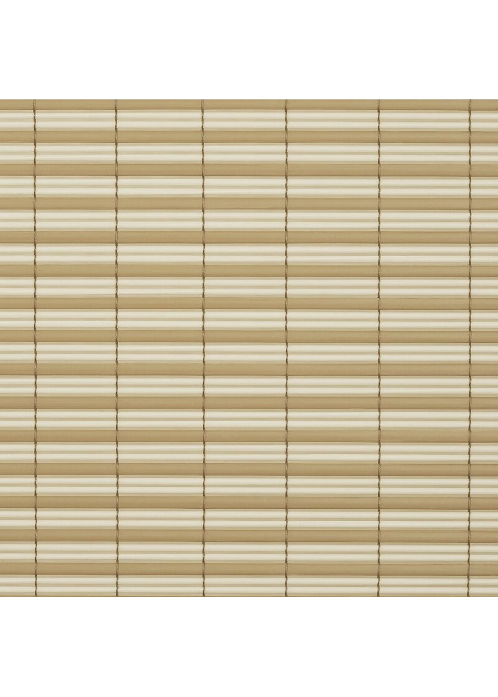 "*72"" x 72"" - Veranda Vinyl Semi-Sheer Roll-Up Shade - Desert/Almond - Final Sale"
