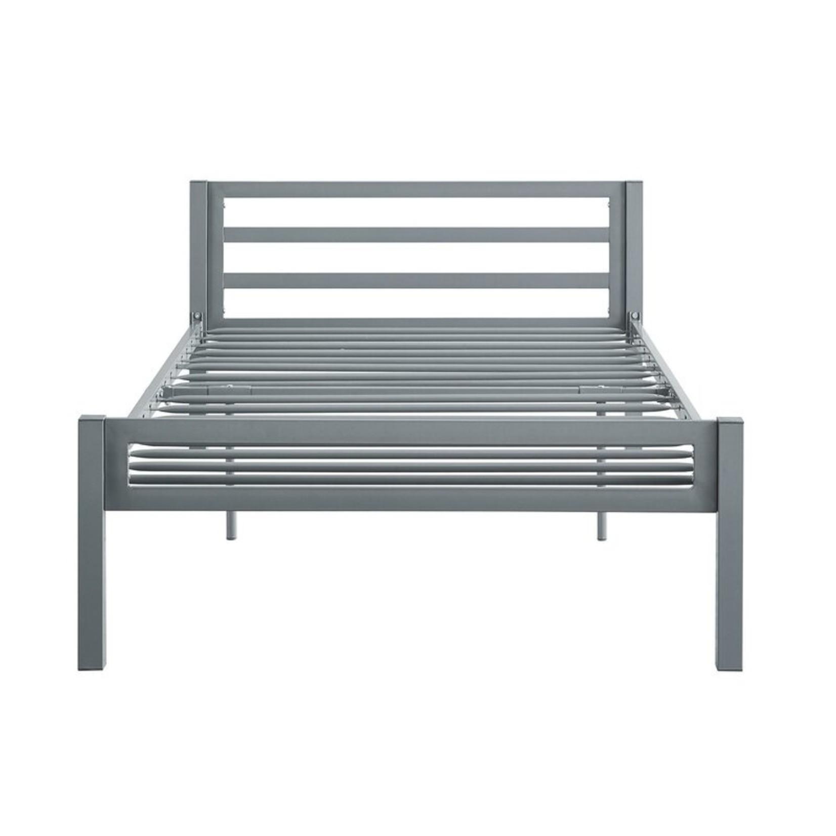 *Twin - Doshie Metal Platform Standard Bed