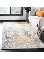 *12' Square - Neasa Abstract Grey/Beige Area Rug