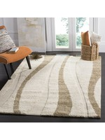 *4' x 6' - Bryer Abstract Creme/Beige Area Rug