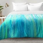 *King - Aqua Stream Comforter Set - Final Sale