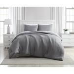 *Queen - Greenport Crinkle 3-Piece Comforter Set - Grey - Final Sale