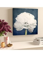 """*16"""" x 16"""" - Floral and Botanical Pretty View Flower - Picture Frame Graphic Art Print on Canvas"""