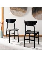 *Jakob Side Chair - Set of 2 - Black
