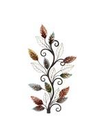 *Metal Leaf Wall Décor