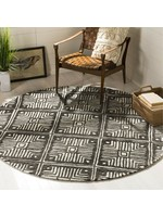 * 5' Round - Anderton Hand-Tufted Wool Ivory Area Rug