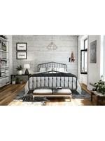 *Full - Bushwick Platform Bed - Grey