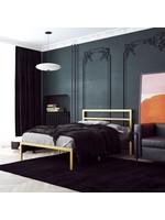 *Full - Flemington Platform Bed - Gold