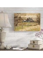 "*16""x 24"" - Roadside Barn by Ramona Murdock - Print on Canvas"